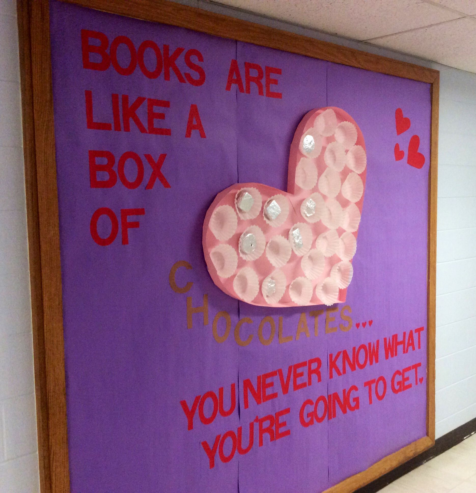 Valentines Day Bulletin Board Valentines Day Library