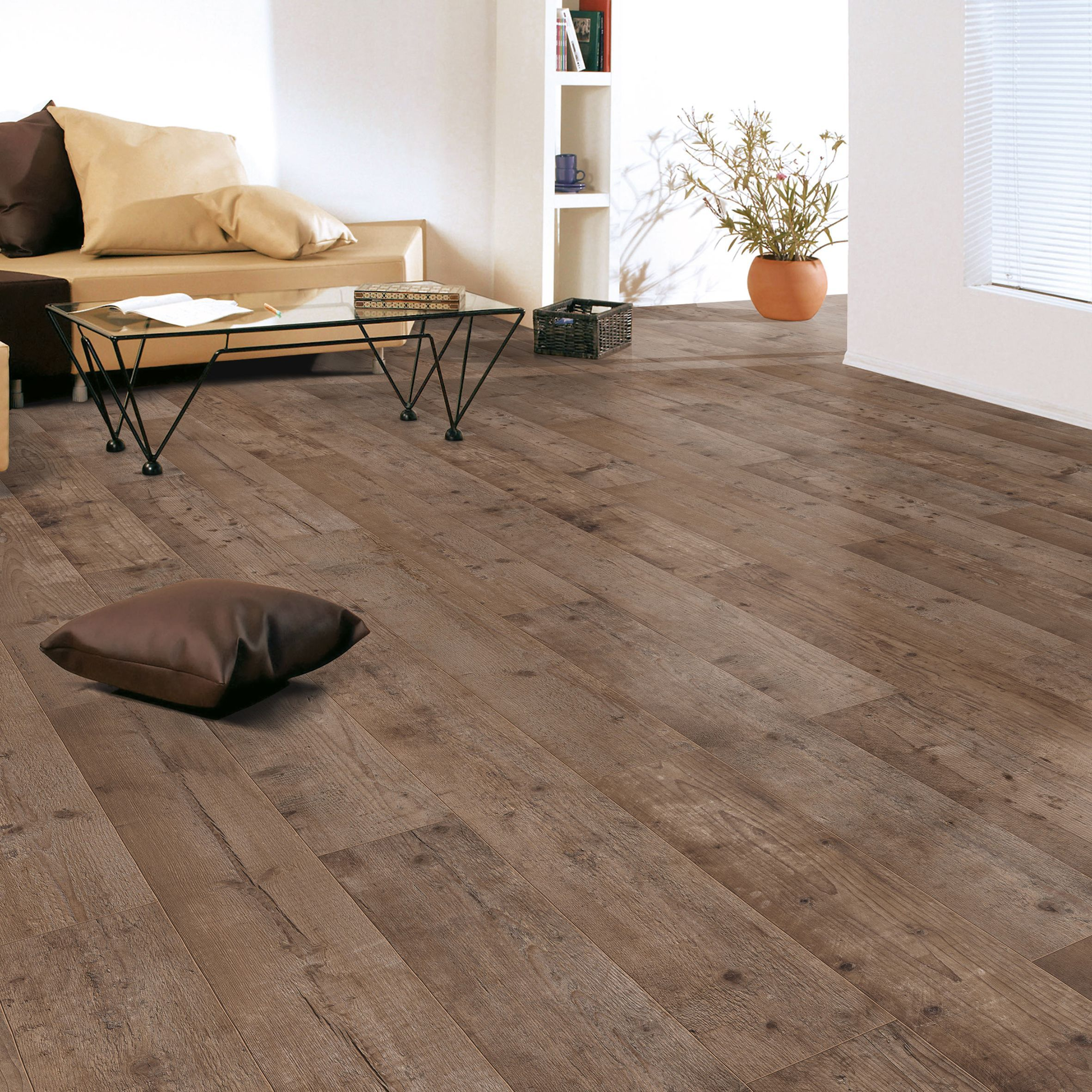 Colours Sicily Rustic Dark Oak Effect Laminate Flooring 199 M