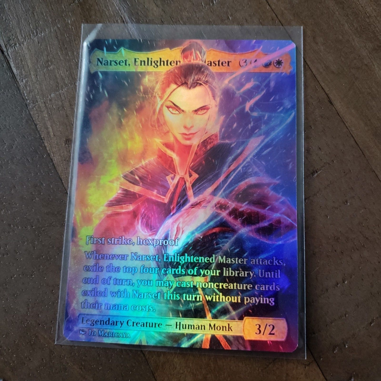 Other Mtg Items 218 Mtg Narset Enlightened Master Foil Buy It