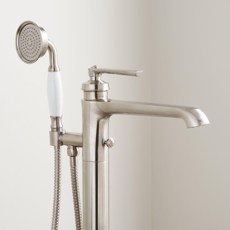 Cooper Freestanding Tub Filler With Hand Shower Freestanding Tub