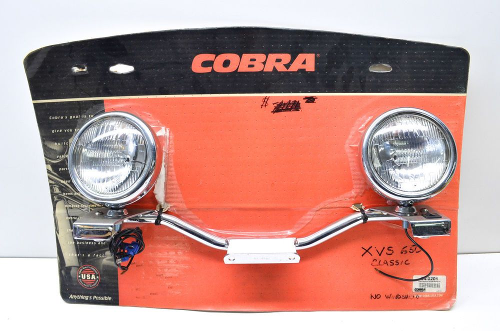 New Cobra Light Bar V-Star NOS | Harley davidson