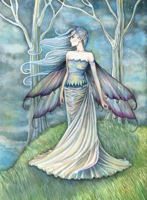 Lovely fairy ♥ в 2019 г.   Искусство с феями, Фэнтези ...