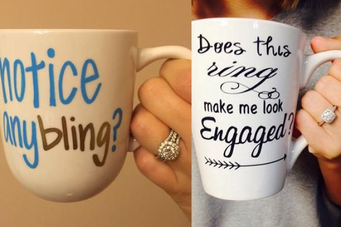 cool and unique ways to announce your engagement to close