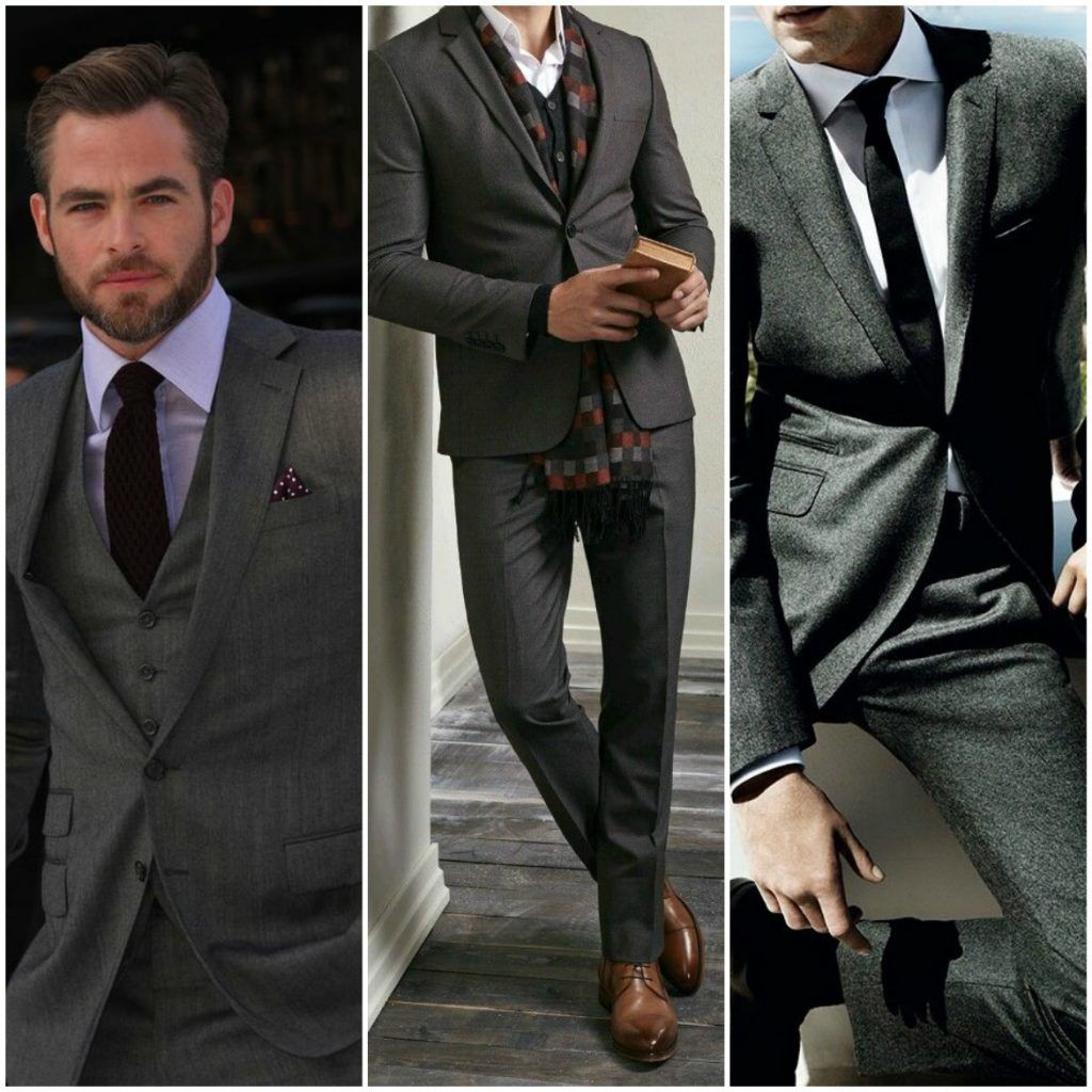 How to Choose and Style Black and Charcoal Suits | Charcoal suit ...