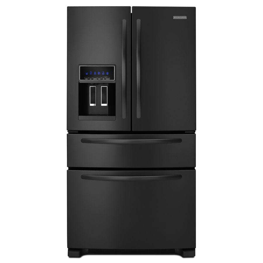 Kitchenaid 25cu ft 4door french door refrigerator with