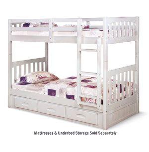 Twin Twin Bunk Bed Youth Bedroom Bedrooms Art Van Furniture