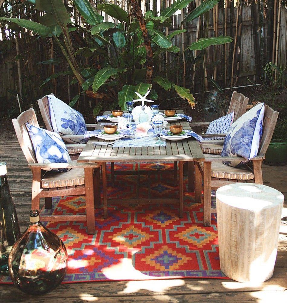 outdoor teppich | garten deko | milanari | garten | pinterest, Gartengerate ideen