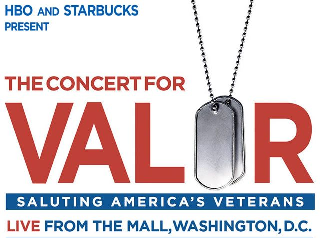 HBO and Starbucks Coffee Company have announced that they will host The Concert For Valor, a first-of-its-kind concert to honor the courage and sacrifice of America's veterans and their families on...