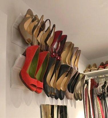 10 Rangements Pour Les Chaussures A Faire Soi Meme Rangement Chaussures Rangement Chaussure Diy Astuce Rangement