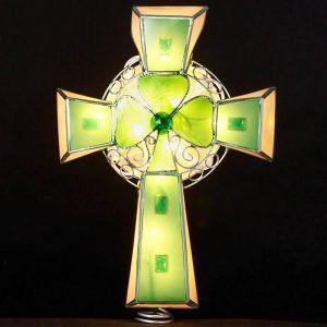 Capiz Irish Cross Tree Topper | Cross tree, Irish cross ...