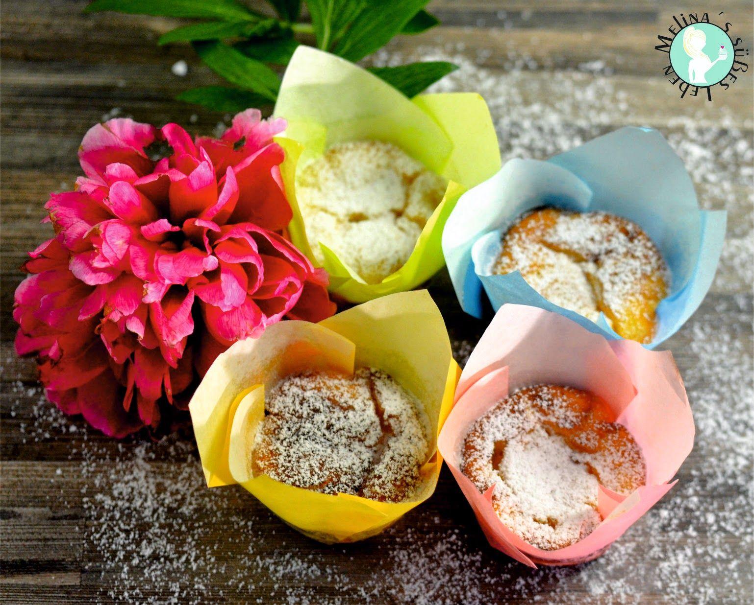 Melina's süßes Leben: Käsekuchen-Muffins (ohne Mehl)