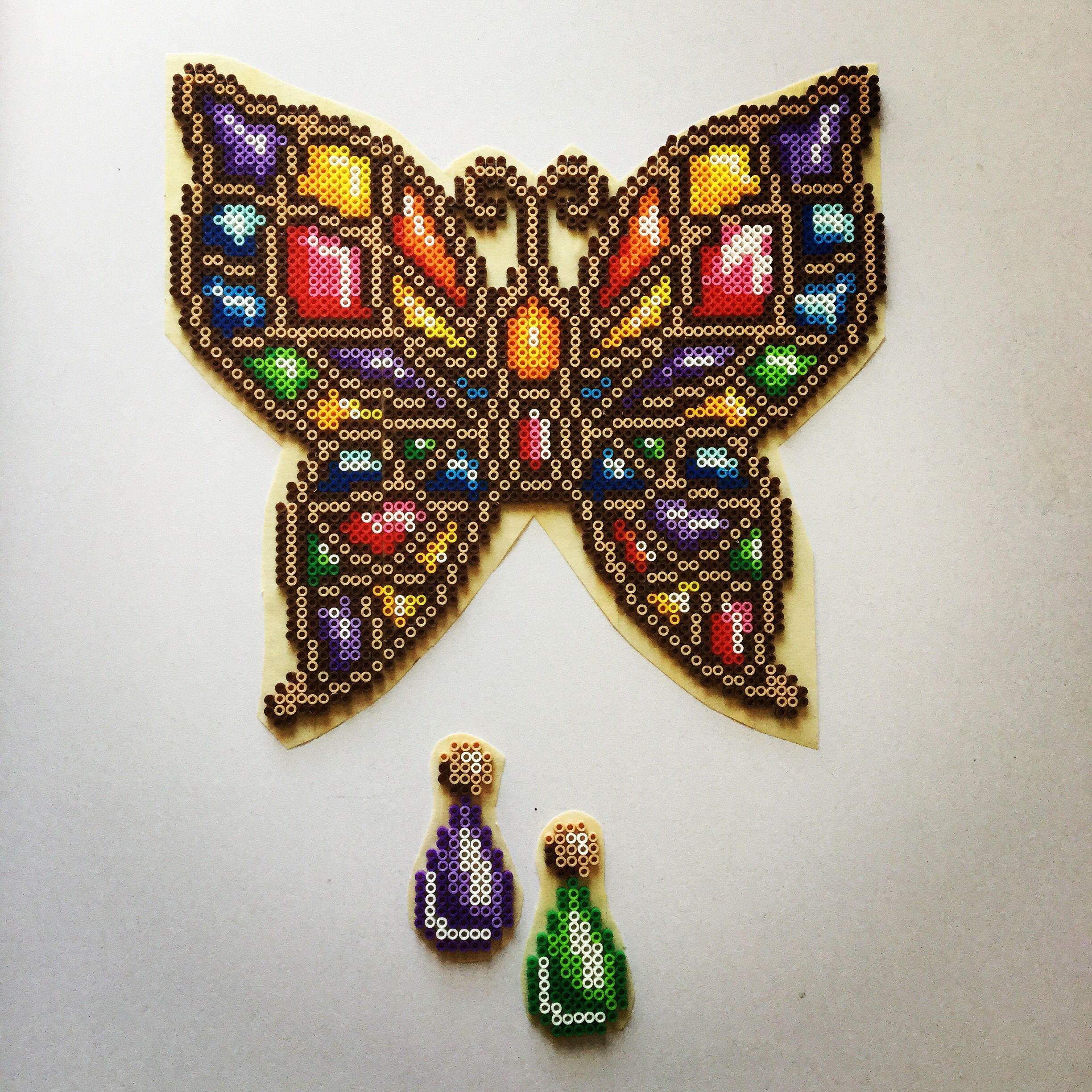 finished bejeweled butterfly just needs fusing gonna