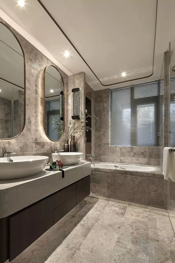32 Luxurious Bathroom Design Ideas That Will Update Your House