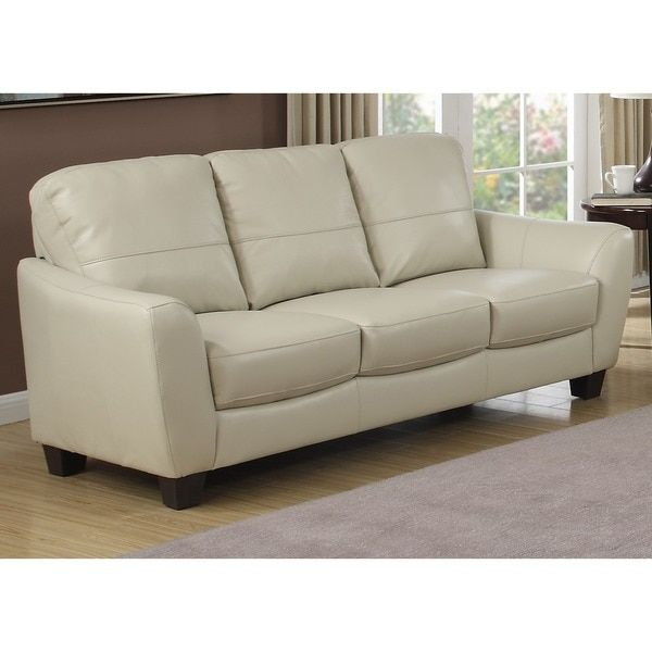 Charmant AC Pacific Sawyer Sofa   Crafted From Sturdy Hardwoods And Finished With An  Innovative Leather Gel Upholstery, The AC Pacific Sawyer Sofa Refreshes  Your ...