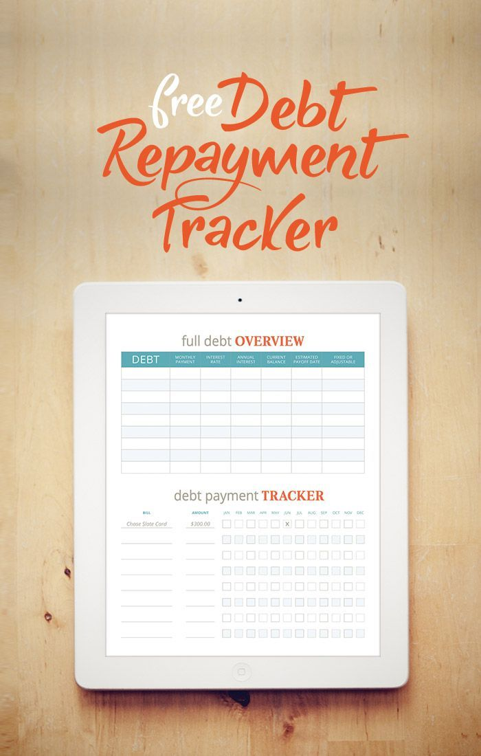 Free Worksheets Debt repayment - credit card payoff calculator spreadsheet