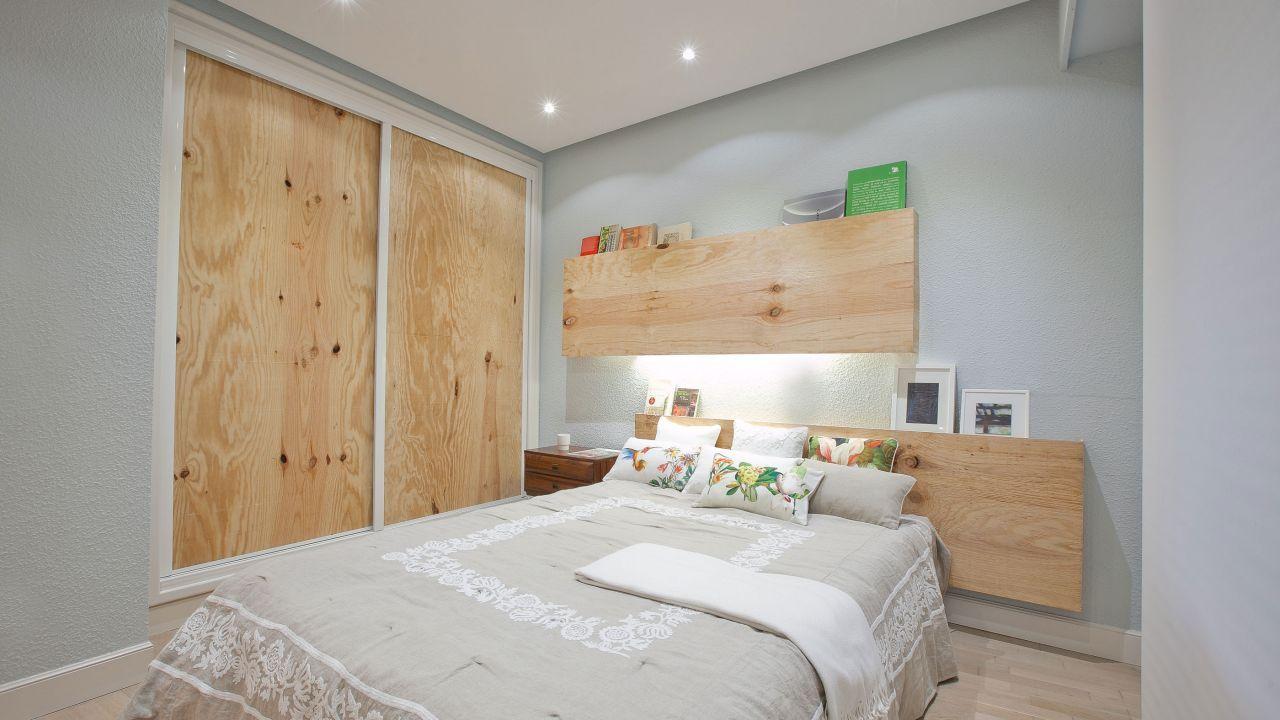 Dormitorio cálido y confortable - Resultado final