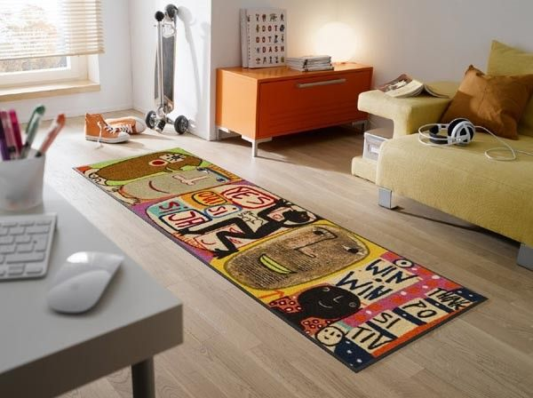 Teppiche Modern Gunstig ~ Billig designer teppich läufer deutsche deko pinterest