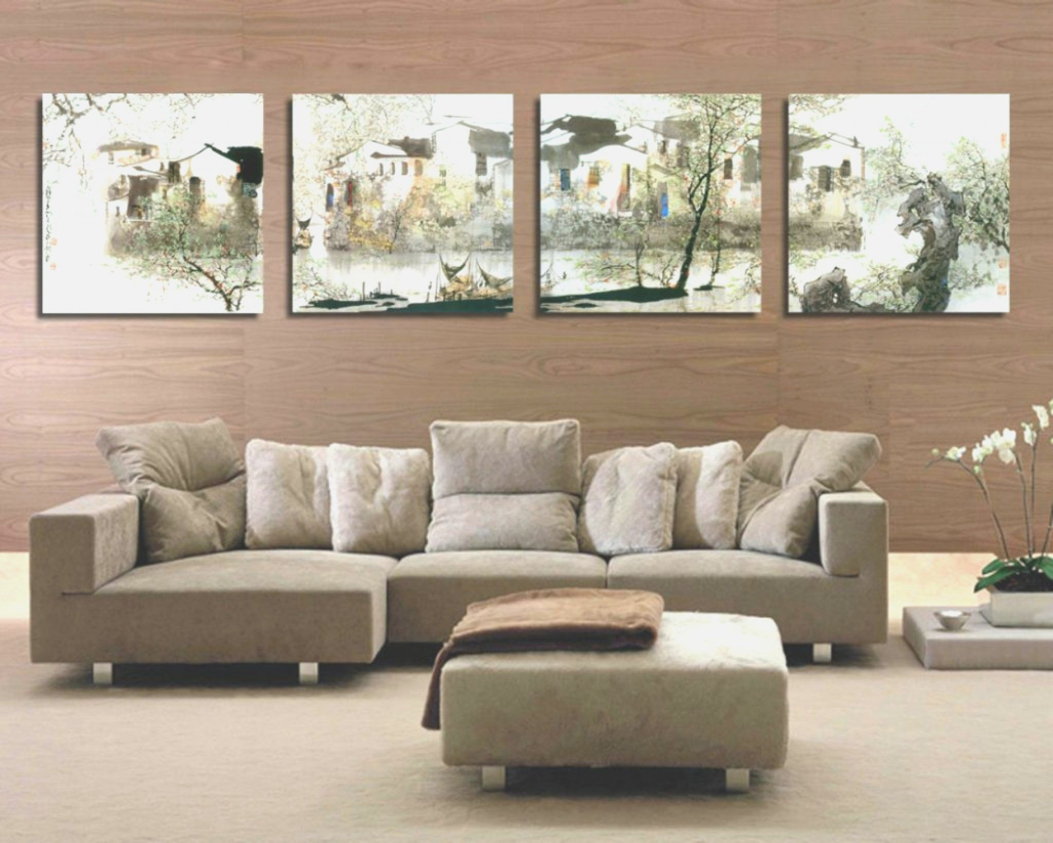 Simple Wall Art Design For Living Room