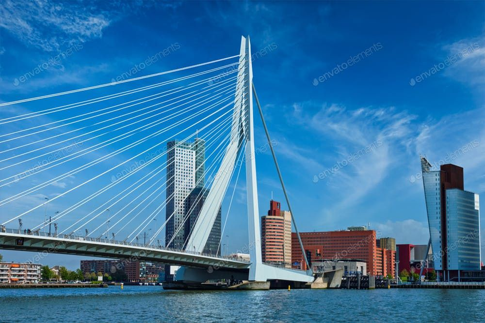 Rotterdam cityscape, Netherlands By f9photos's photos Ad