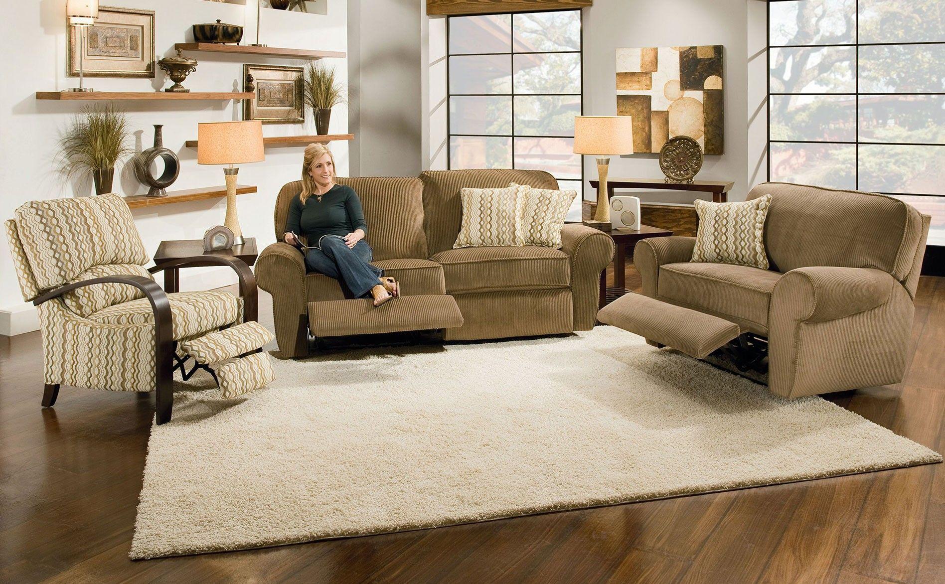 Lane Megan Reclining Sofa with Power Living Room