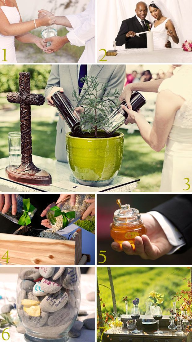 I Like Planting A Plant Then Guests Throwing Bird Seed Unique Wedding Unity Ceremony