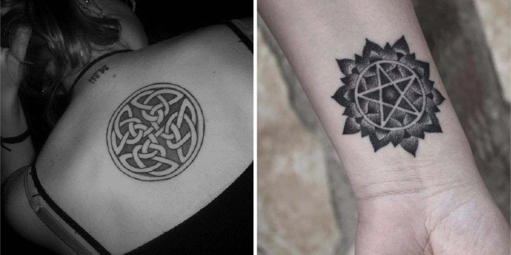 Estos 10 Tatuajes Inspirados En Simbolos Celtas Traeran Proteccion Y Buenas Vibras A Tu Vida Simbolos Celtas Simbolos Tattoo Tatuajes