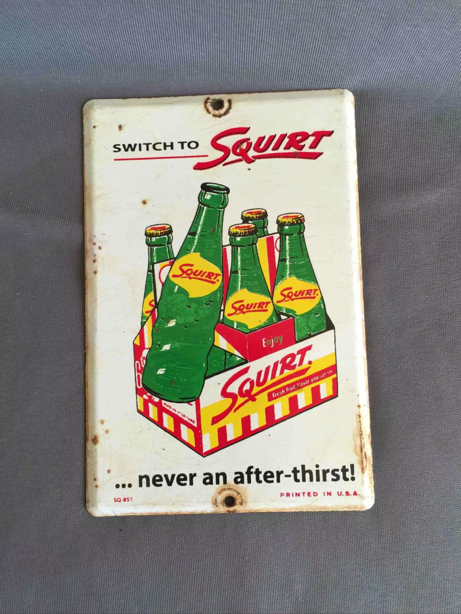 Squirt sign