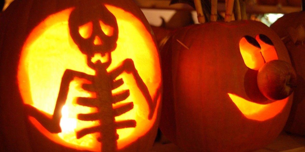 jack o lantern template skeleton  7-unique-and-spooky-jack-o-lantern-designs in 719 ...