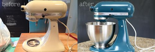 A spray painted mixer how to