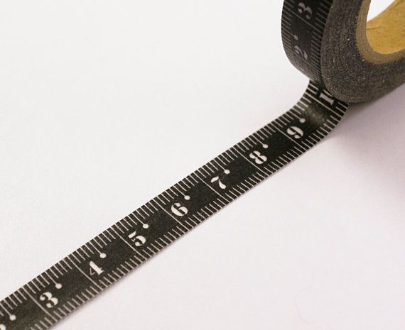 Centimeters  Millimeters Measuring Tape or Ruler par kawaiigoodies, $4.25
