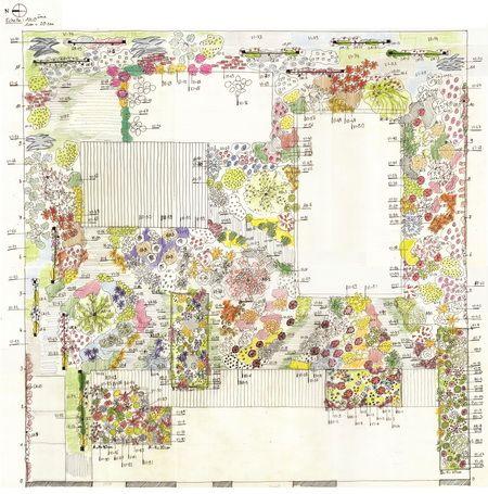 Plan de masse plan de jardin idee jardin pinterest plan de masse plan de jardin et plans - Dessiner un plan de masse ...