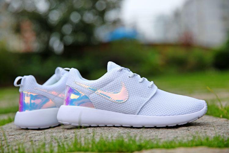 6ea5a7e944018 511881-108 Nike Roshe One Iridescent White White Feet Trainers Shoes All Nike  Roshes UK