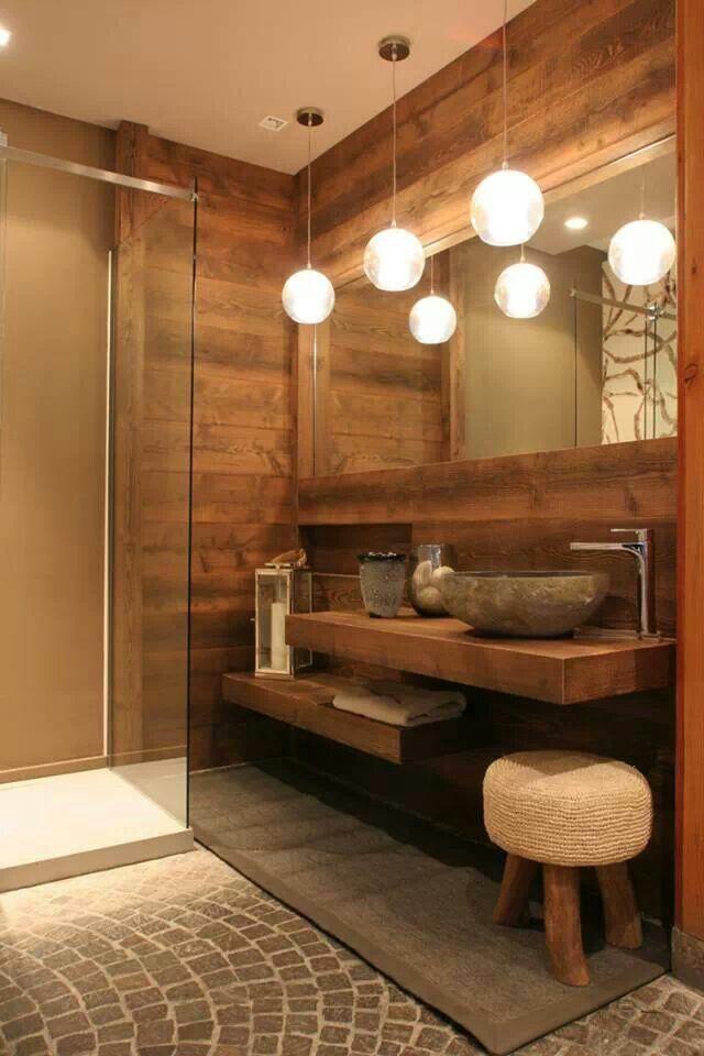 Bagno stile alpino  Bathroom  Bathroom Bathroom interior e Bathroom toilets