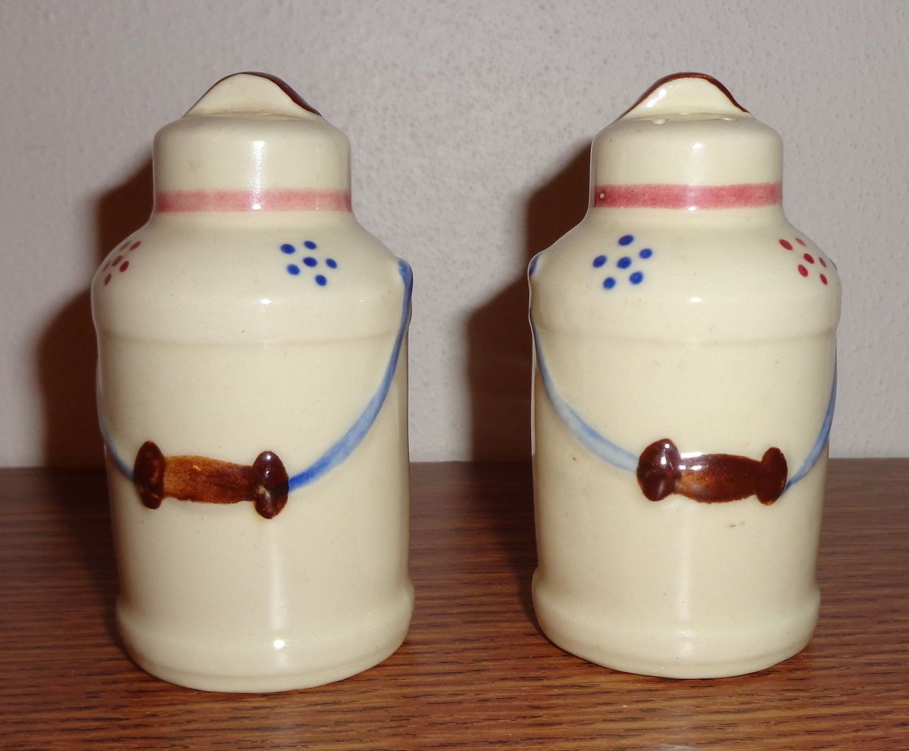 Milk Can Vntage Salt and Pepper Shakers by Ganz | eBay