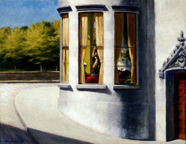 """Edward Hopper/ Jacques Lacan : """"C'est au royaume des morts que les non-dupes errent"""""""