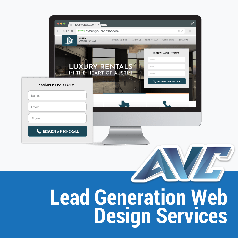 Pin On Lead Generation Web Design Services From Avc
