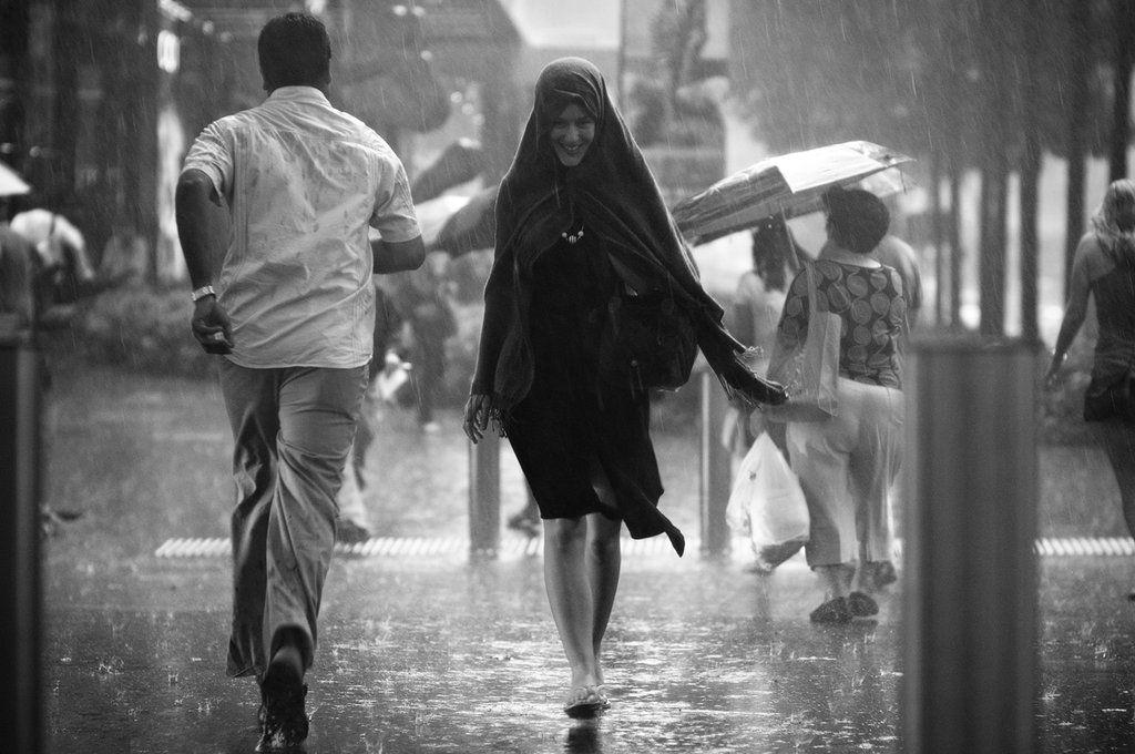 A Smile in the Rain by dannyst.deviantart.com on @deviantART