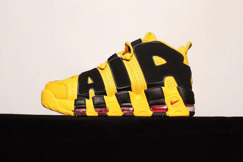 7d98d33e41 Buy Unisex Nike Air More Uptempo Bruce Lee Black Yellow | Unisex ...
