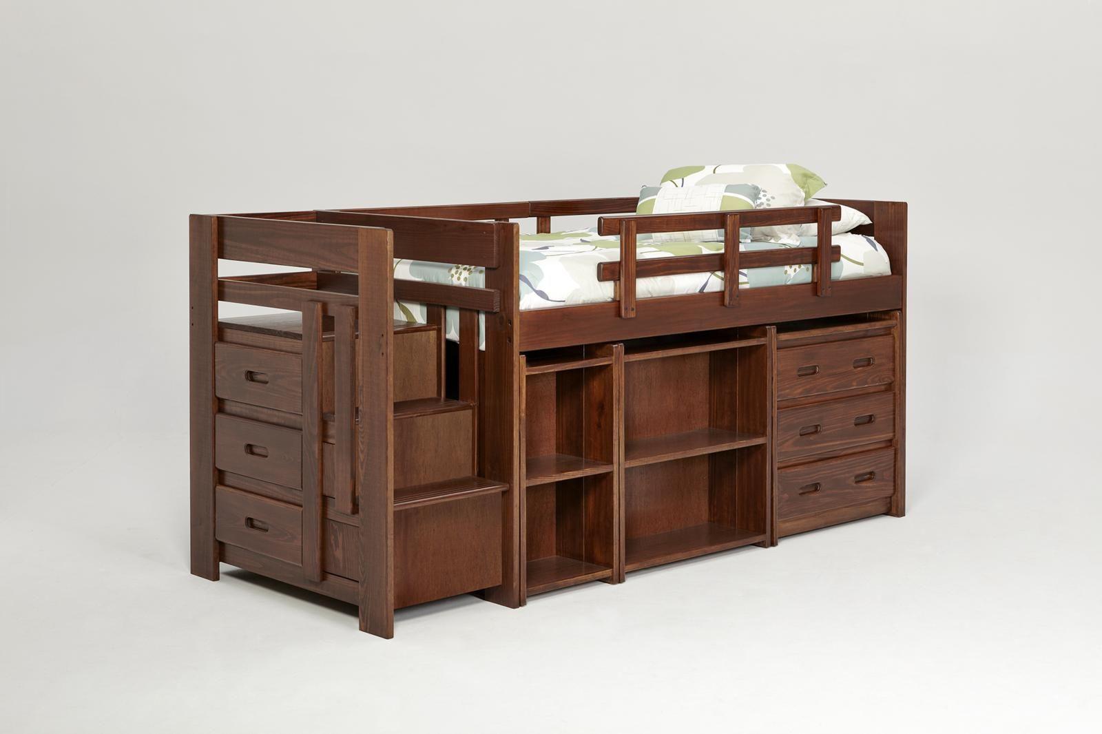 Twin loft bed ideas  Twin Mini Loft Bed with Storage Design Ideas  Twin Bed  Pinterest