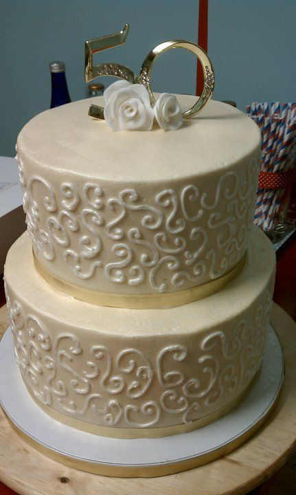 50th anniversary wedding cakes 50th wedding anniversary cakes 50th wedding anniversary 1134