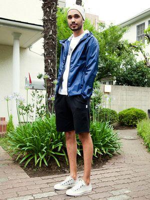 A boy in Tokyo