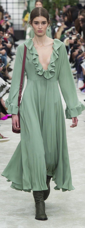 Valentino ready to ware fallwinter   Green  Pinterest