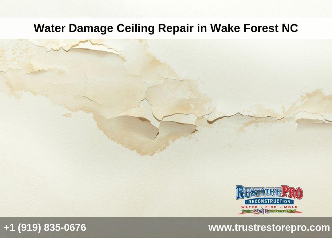 Emergency Home Disaster Restoration Damage Repair In Wake Forest Water Damage Wake Forest Repair