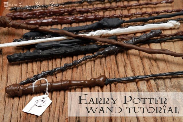 Magic Wood Look Wand Wizard Ron Fancy Dress Harry Castle Merlin Spells
