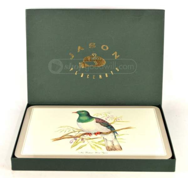 Vintage Jason Place Mats 1963 New Zealand Birds | New Zealand ...