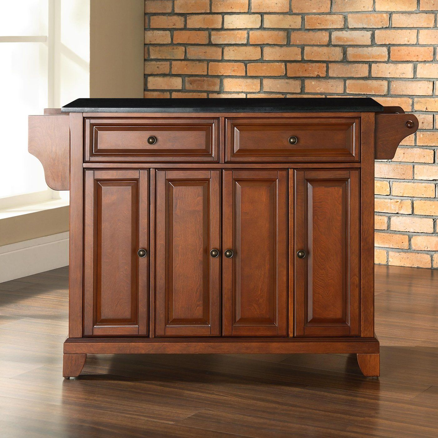 crosley furniture kf3000 newport kitchen island | kitchens