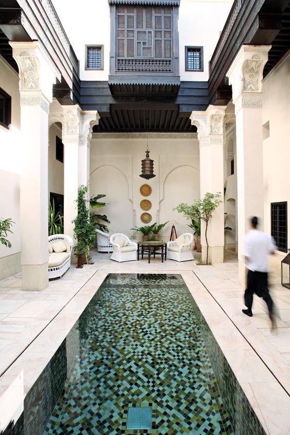Top 10 best riad hotels in marrakech maroc piscines et for Riad marrakech piscine