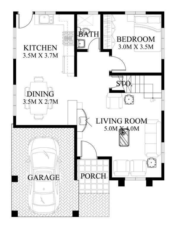 Modern house design mhd is  bedroom two story which can be also rh br pinterest