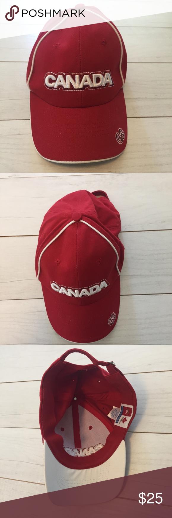 Canada Hudson Bay Co Baseball hat Red Olympics Canada