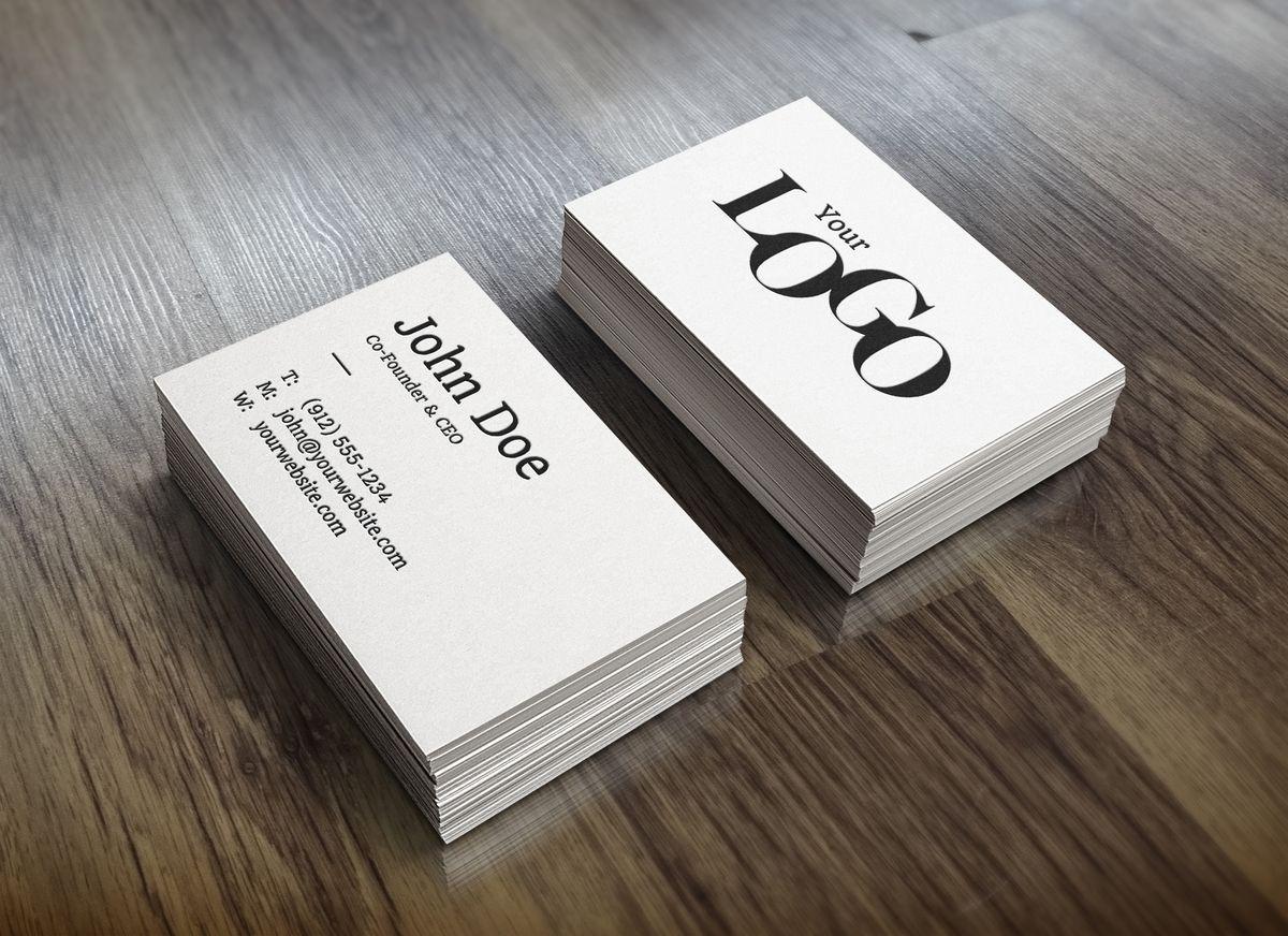 Business Card Design Die Von Photoshop Plus Business Card